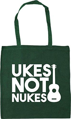 Bag Ukes Tote Green Nukes Shopping x38cm Gym litres Bottle HippoWarehouse 42cm Beach Not 10 w0tdqxER