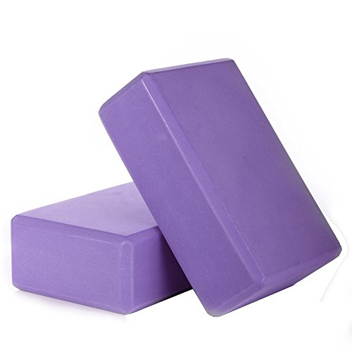 Masione Yoga Brick EVA Foam Blocks Pilates Exercise Fitness Props 9