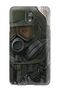 EdXvwQZ7111GfPVJ Case Cover, Fashionable Galaxy Note 3 Case - The Last Zombie