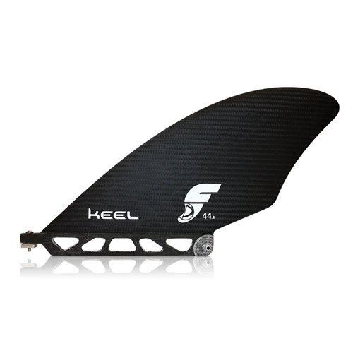 Futures Fins KEEL 44 SUP Race Fin Large Carbon Fiber Black Keel Stand Up Paddleboard Fin