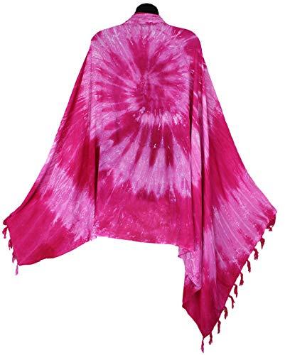 Large Pink Scarf Spiral...