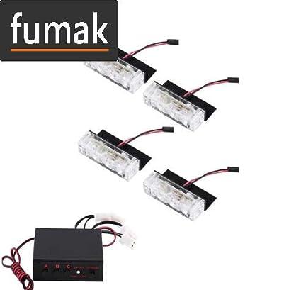 Amazon.com: fumak luces de parrilla – 12 V para rejilla de ...