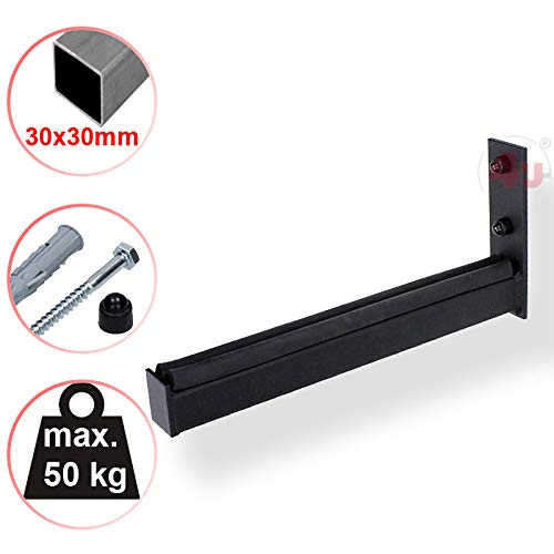 30x30mm 50kg, Felgenbaum Reifenregal Reifen Felgen Wandhalterung Wandhalter 4U/® Wand Reifenhalter 31cm