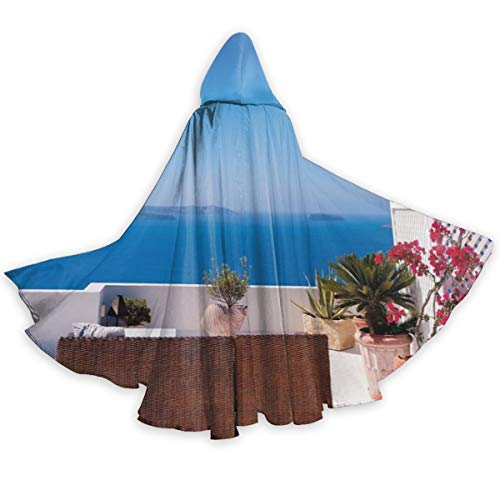 Mediterranean Themed Costumes - Adult Hooded Halloween Cloak Costumes Party