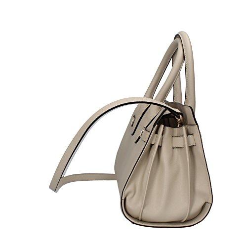 INTREND borsa a mano pelle grigio chiaro