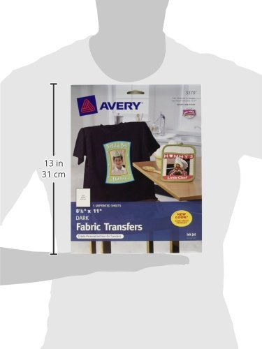 Avery Dark T-Shirt Transfers