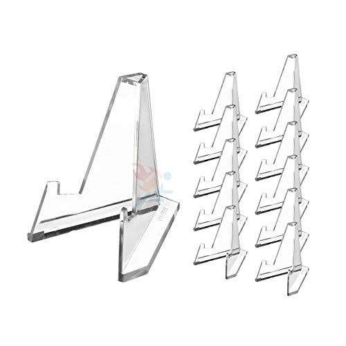(Set of 12 Mini Acrylic Easel Stands, 2.25