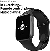 BIBIBA Smart Watch Men Heart Rate Smart Watch for iOS,Iwo 8 Plus White