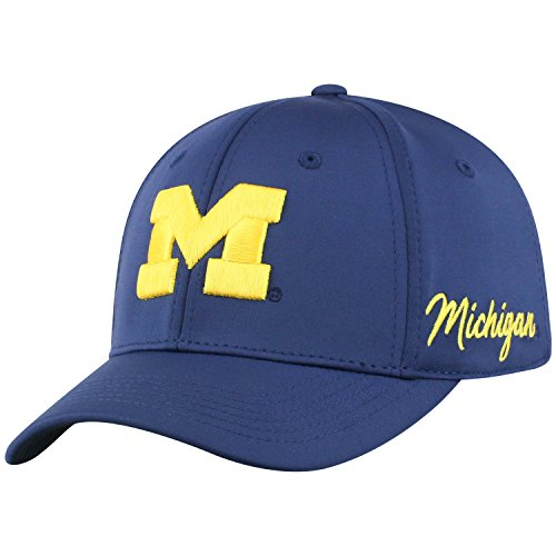 Top of the World Michigan Wolverines Phenom Memory Fit 1Fit Hat