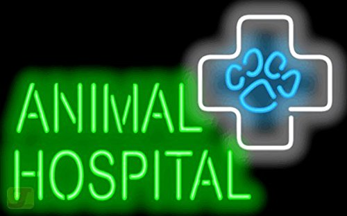 Animal Hospital Neon Sign by Jantec Sign Group