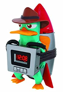 disney pf300acr phineas ferb for kids wake up buzzer alarm clock with am fm radio. Black Bedroom Furniture Sets. Home Design Ideas