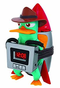 disney pf300acr phineas ferb for kids wake up buzzer alarm clock with am fm radio lcd display. Black Bedroom Furniture Sets. Home Design Ideas
