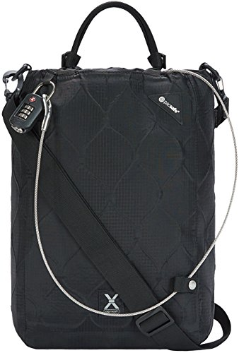 Pacsafe Travelsafe X15-16 Liter Portable Lockbox for Travel (Flat Design) -Fits 15 inch Laptop incl....
