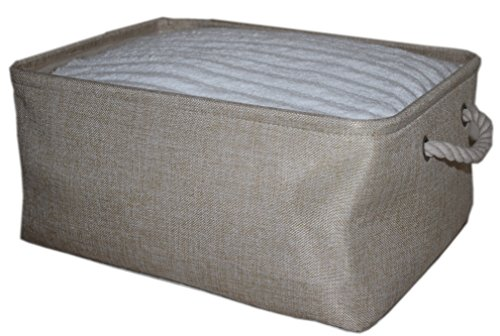 ECOHIP Storage Basket or Cloth Storage Bin, Collapsible & Fo
