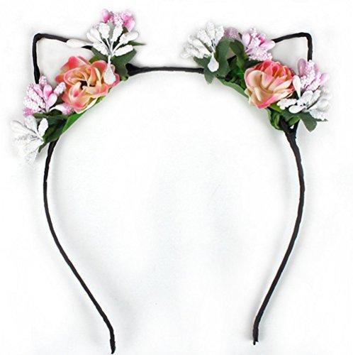 Demana Cintas para el pelo foto estudio foto accesorios de gama alta simulación tela bandas flores adornos de pelo...