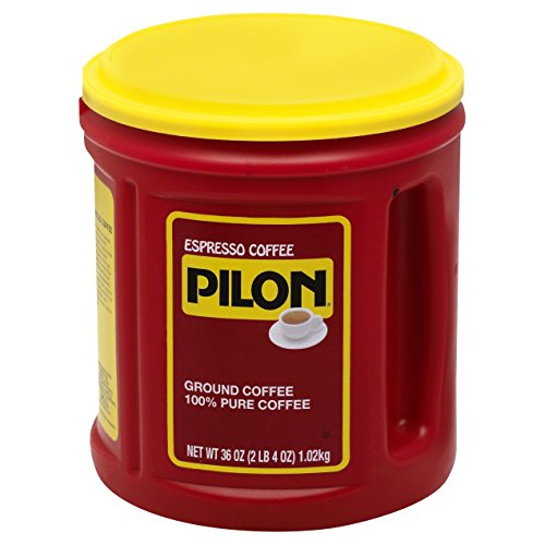 Pilon Espresso Coffee, 36 Ounce (Pack of 6) by Pilon