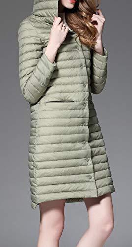 Coat Women's EKU 1 Weight Light Ultra Package Jacket Down Hooded TwdwCq8