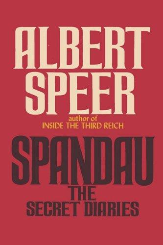"""""""Spandau The Secret Diaries"""" av Albert Speer"""