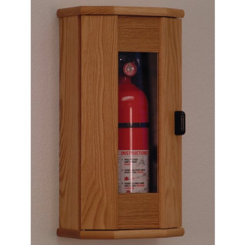 FixtureDisplays Fire Extinguisher Cabinet - 5 lb. capacity 104207