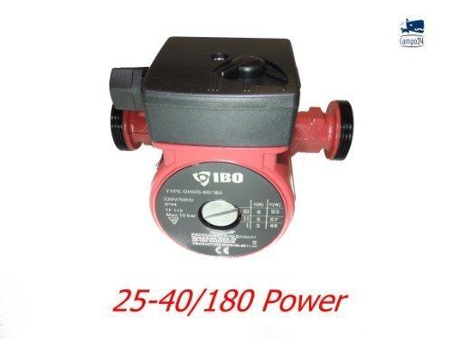 Heating Pump Circulation Pump Adjustable 25-40, 1.5 Inch by Campo24 IBO