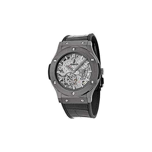 Hublot Classic Fusion Classico Men's Ultra-Thin All Black Manual Watch - 515.CM.0140.LR