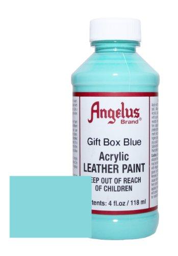 Angelus Acrylic Leather Paint 4oz Gift Blue