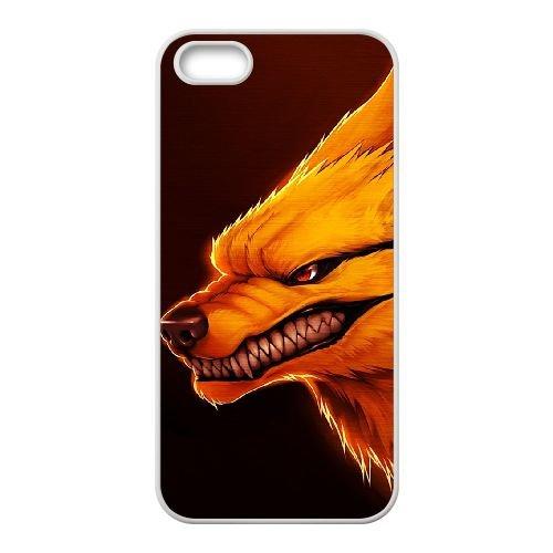 Naruto 003 coque iPhone 4 4S Housse Blanc téléphone portable couverture de cas coque EOKXLKNBC22056