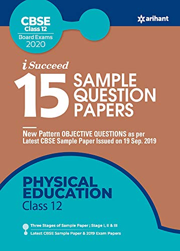 15 Sample Question Papers Physical Education Class 12th CBSE 2019-2020