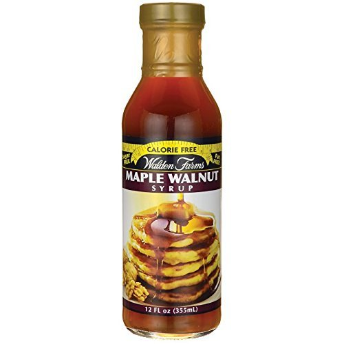 Walden farms Calorie Free Maple Walnut Syrup 12 oz