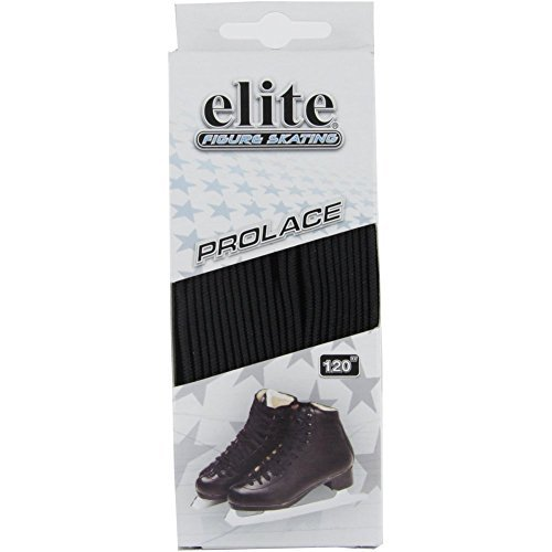 Elite Figure Skate Laces (84 inch, Black)