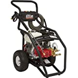 NorthStar Super High Flow Gas Cold Water Pressure Washer - 3000 PSI, 5.0 GPM, Honda Engine, Model# 15782030