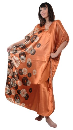 Up2date Fashion Spheroid Floral Print Caftan, Plus Size, Style#Caf-59