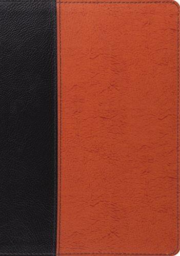 ESV Study Bible Blth Blk Saddle Portfolio by Crossway Books USA (2012-06-30)