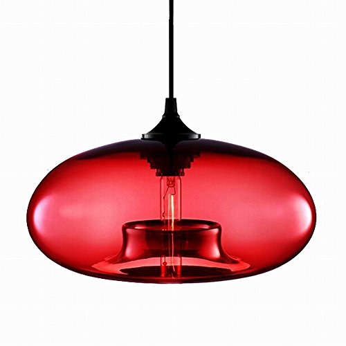 Red Hanging Pendant Light in Florida - 8