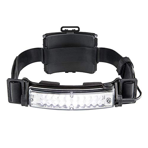 FoxFury 420-T09 Command+ Tilt Fire and Impact Resistant Waterproof White LED Headlamp/Helmet Light, 100 Lumens