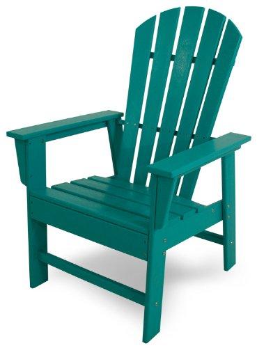 POLYWOOD SBD16AR South Beach Dining Chair, Aruba