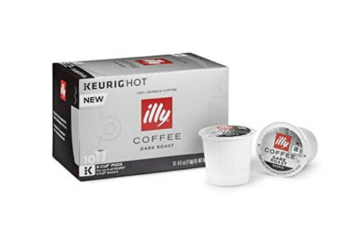illy® K-Cup® Pods 3 Boxes of 10 K-cups (Dark Roast)