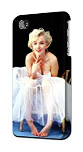S1837 Marilyn Monroe White Dress Case Cover For IPHONE 5C