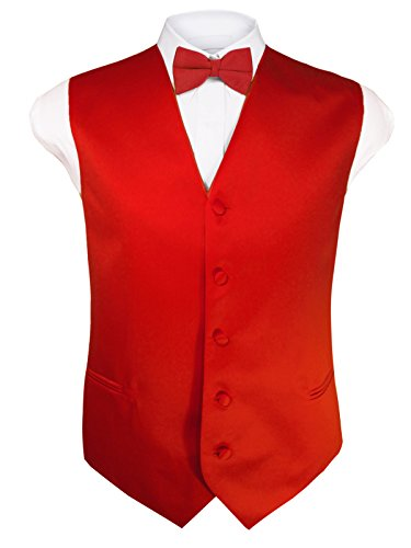 Red 4 Buckle Vest - 5