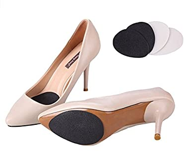 ea32d54b95bf Image Unavailable. Image not available for. Color  Non-slip Shoe Pads Slip  Resistant Shoe Heel Sole Pads Self Adhesive Rubber Cushion Protector