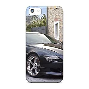 Tough Iphone XMH7091eoit Cases Covers/ Cases For Iphone 5c(black Ac Schnitzer Acs6 Sport Bmw Front Angle)