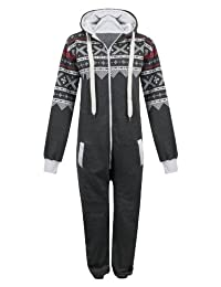 Mens Womens Unisex One Direction Rihanna Aztec Camouflage Hooded Onesie Jumpsuit