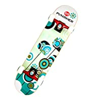 Punisher Skateboards Essence Complete 31-Inch Skateboard with Canadian Maple by PUNISHER