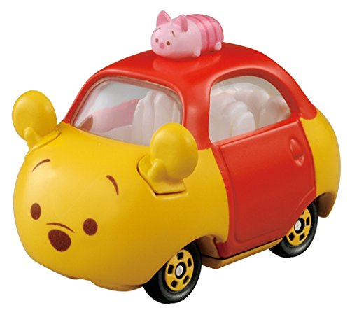 Takaratomy Tomica Disney Motors Tsum Tsum DMT-05 Mini Car Figure with Top, Winnie The Pooh (Mini Motor Car compare prices)