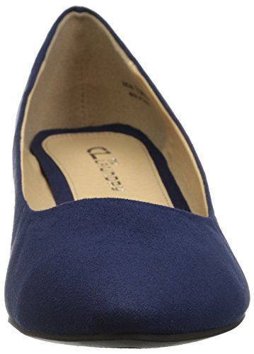 Navy Laundry Suede Dress Women's By Highest Cl Pump Chinese qnF06xwf