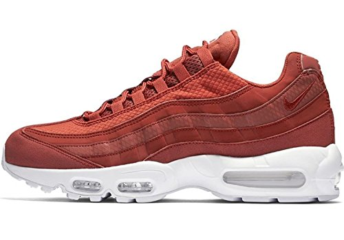 Nike Air Max 95 Premium SE Mens Running Trainers 924478 Sneakers Shoes (UK 9.5 US 10.5 EU 44.5, Dusty Peach White 200) by Nike (Image #2)