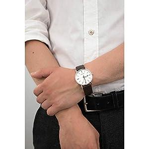 Bulova Reloj Analogico para Hombre de Cuarzo con Correa en Piel 96B242 5