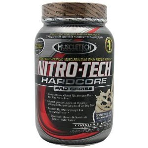 UPC 631656701647, Nitro-Tech- MuscleTech Hardcore Pro Series Cookies and Cream, 2lbs