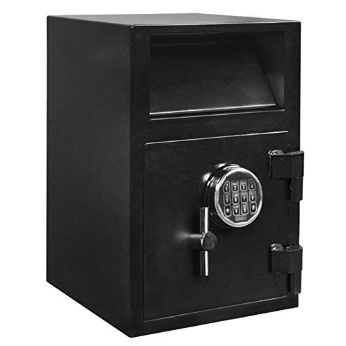 Stealth Depository Safe Electronic Lock Cash Drop Security Storage 1/2