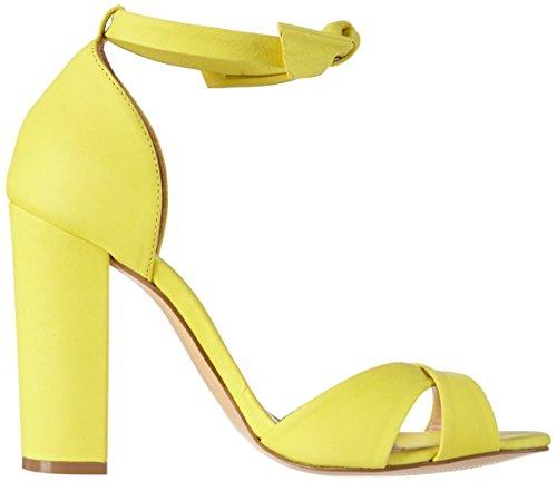 Light Mujer Aldo Gelb Sandalias de Yellow Madruzzo tobillo 68 Amarillo ITA0T4wq